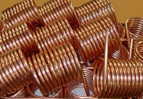 copper heat exchanger coil, copper coil tubing, copper coil, 1 2 inch copper tubing coil, 1 4 inch copper tubing coil, flat copper coil, soft copper coil, copper coil stockist, copper pipe coil